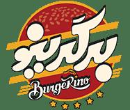 لوگو فست فود برگرینو - لوگو همبرگر Burgerino - طراحی شرکت کی نگار